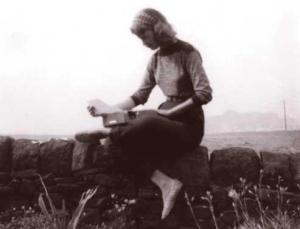 Sylvia Plath in her element