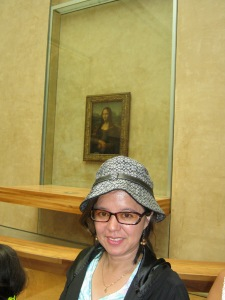 At lest I can start telling people I had the chance to actually stand a few feet away from the Mona Lisa