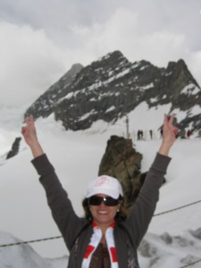That's the queen at the top of the world for you. :-)
