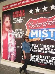 """Kathleen Turner  was ultimately cool in the fil """"Body Heat."""" Glad to know she's still performing."""